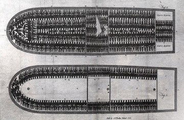 barcaza negrera irlandesa de 1786