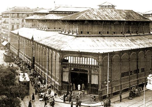 mercado de la cebada 1935