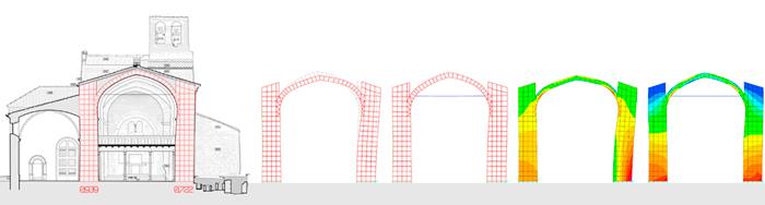 Análisis de un esqueleto de horigón para torre de viviendas