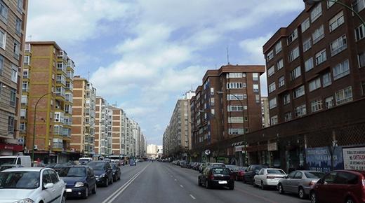 Gamonal bulevar Burgos
