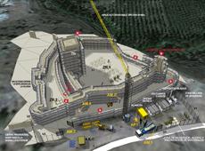 Consolidación y restauración del Castillo de Ucero en Soria