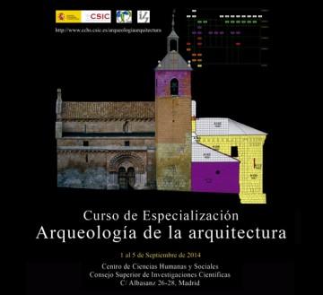 Curso de especialización Arqueología de la arquitectura