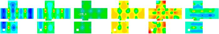 Análisis estructural de las losas de una casa patio