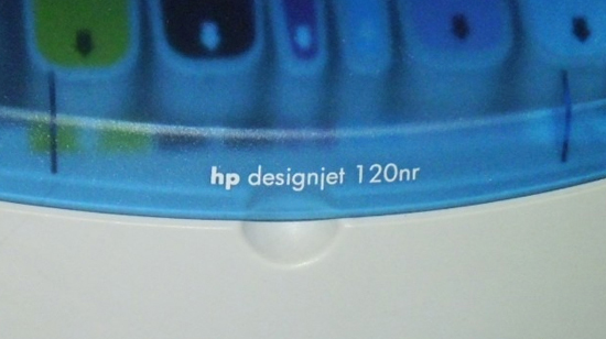 HP designjet 120 en Windows 7