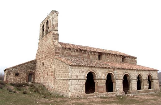 Iglesia de Santa María en Montejo de Tiermes Soria